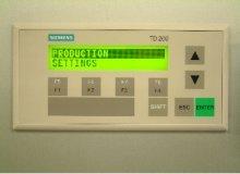 Siemens HMI panel