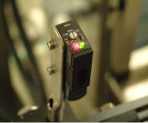 Omron photocell retro reflective sensor