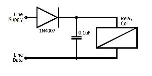 Matrix output diode smoothing